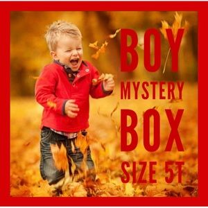 BOY MYSTERY BOX SIZE 5T FALL/WINTER